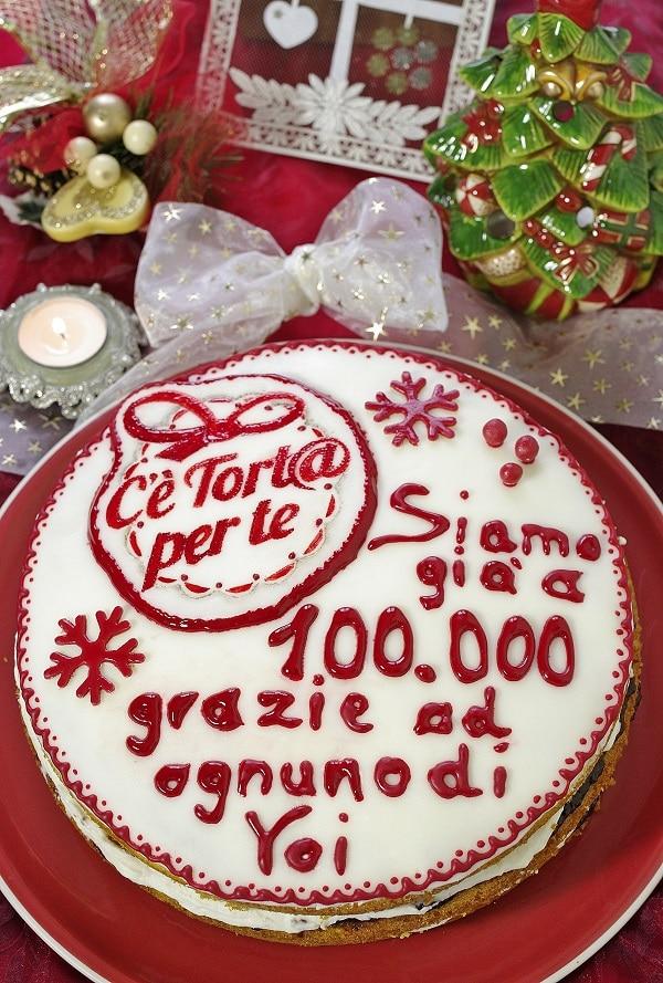 Torta per i 100.000 amici di Facebook