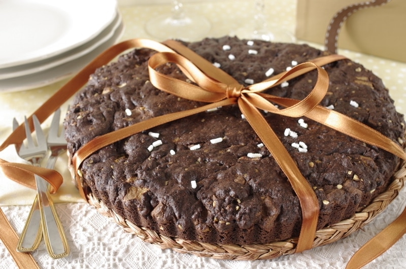 Torta biscottone al triplo cioccolato