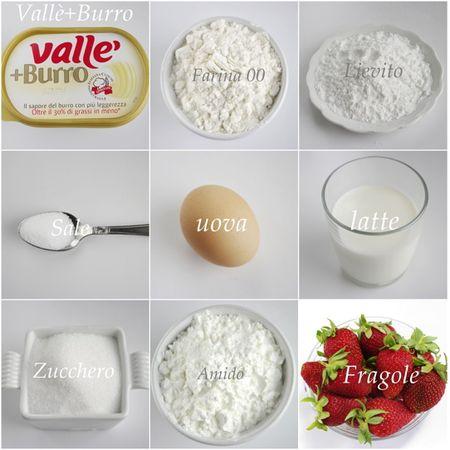Gli ingredienti. Accendete il forno a 170 gradi