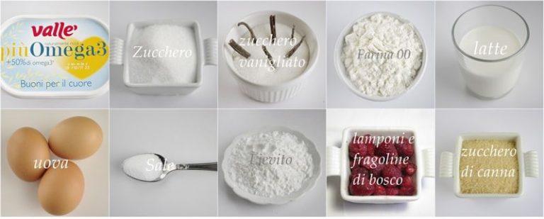 Gli ingredienti. Foderate uno stampo da 24 cm con carta da forno bagnata e strizzata