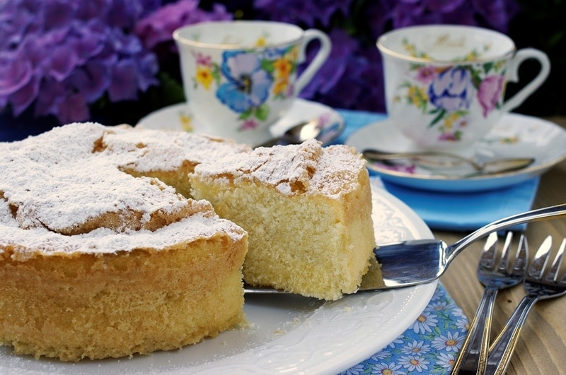 Torta sabbiosa senza glutine