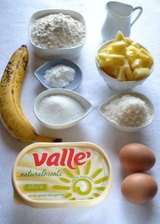 Ingredienti. Accendete il forno a 180 gradi