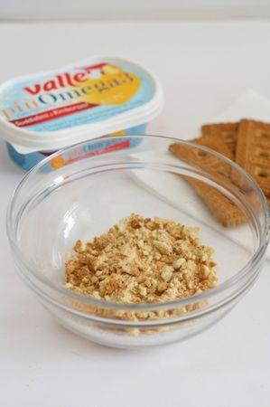 Sbriciolare i biscotti secchi