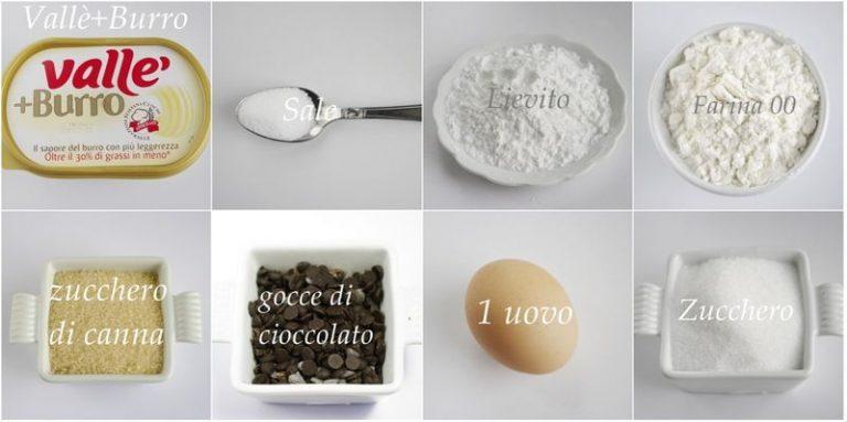 Ingredienti. Accendere il forno a 190°