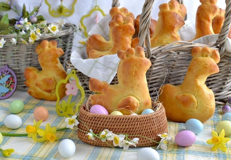 Gallinelle allo zafferano per Pasqua