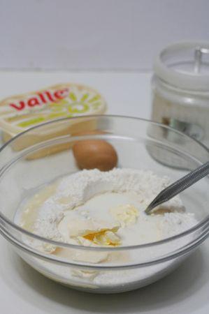 successivamente aggiungere Vallé Naturalmente insieme ad un pizzico di sale