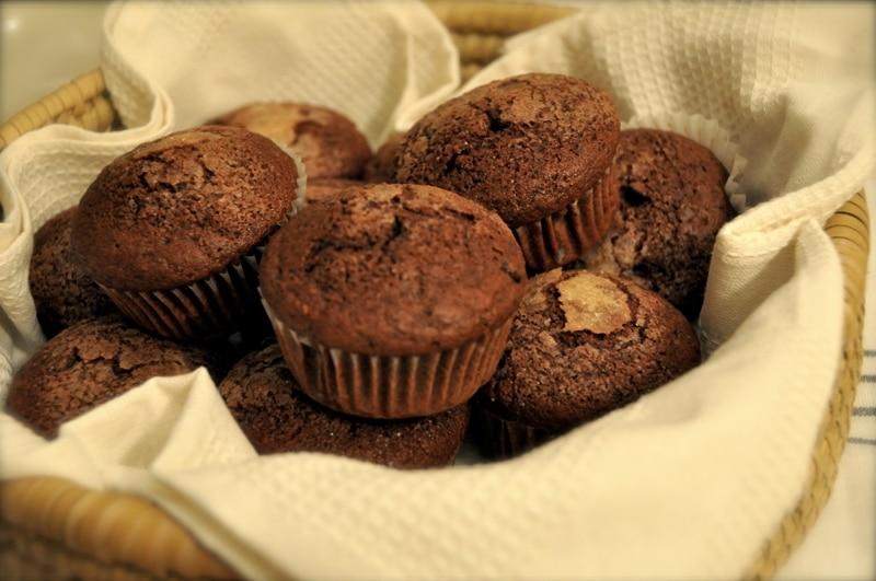 """Muffins al cioccolato """"Dolci soffici"""""""