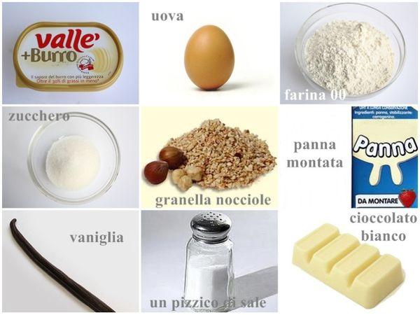 Ingredienti. setacciare la farina e lo zucchero. Aggiungere un pizzico di sale