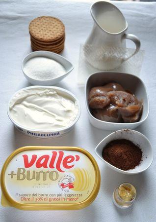 Ingredienti  (la torta NON prevede cottura)