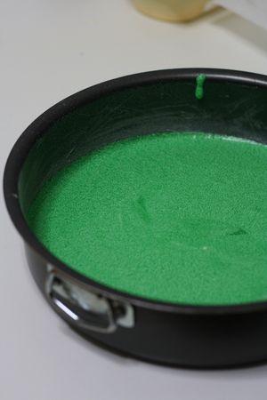 Stessa cosa per il colore verde