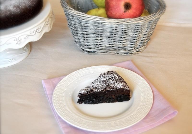 """Torta al doppio cioccolato e prugne """"Torte Soffici"""""""