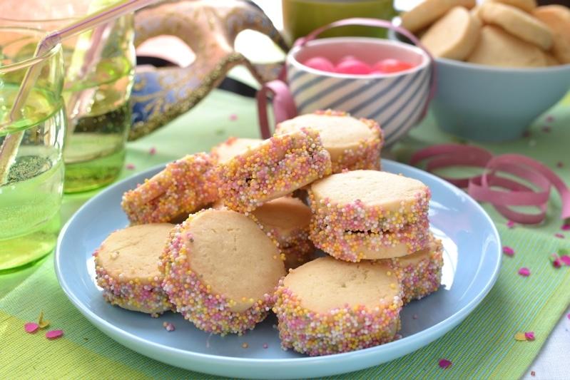 Biscotti multicolore