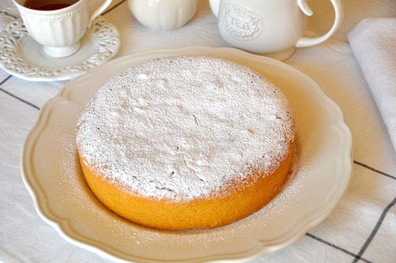 Torta paradiso, ricetta facile e veloce