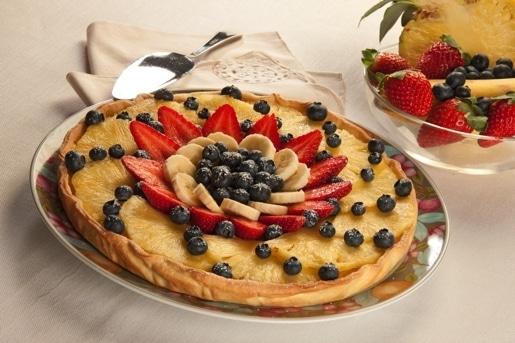 Crostata di frutta fresca, torta alla frutta