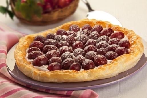 Sfogliata della vendemmia, ricetta torta alla frutta