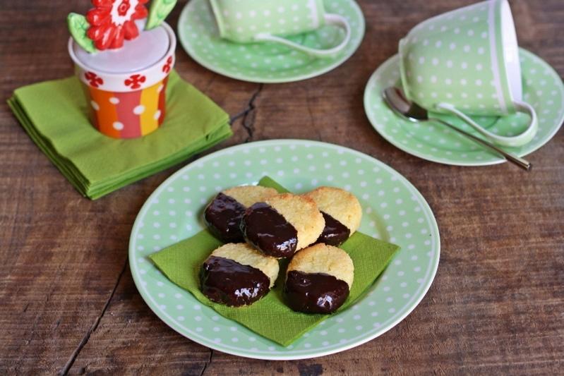 Biscotti al cocco e ciocco