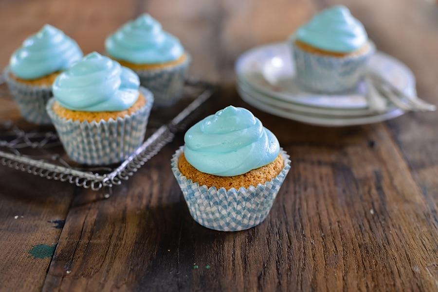 Cupcake azzurri
