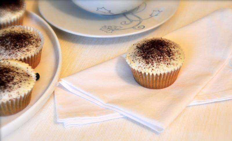 Cupcakes al cappuccino