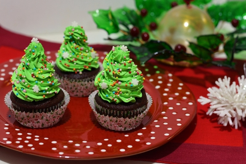 Cupcake alberelli