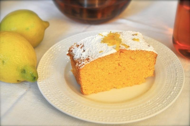 "Torta polenta e limone ""Torta Soffice"""