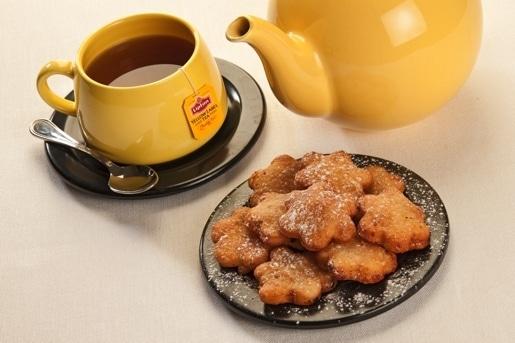 """Raviolini fritti di pasta frolla """"biscotti marmellata"""""""