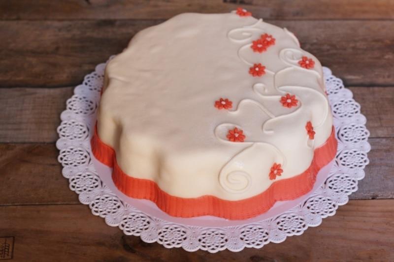 Wedding cake a fiore