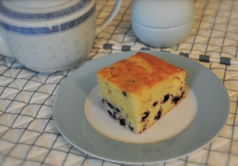 "Torta al Kefir e mirtilli ""DolceNatale"""