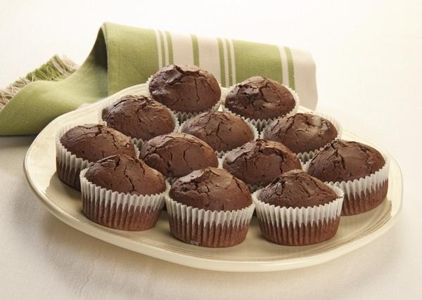 Muffins al cioccolato e peperoncino