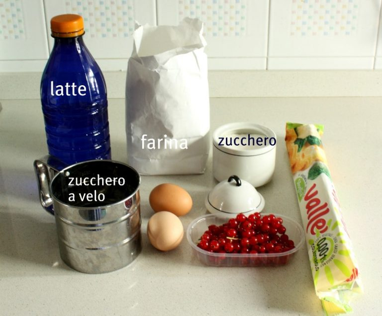 Gli ingredienti