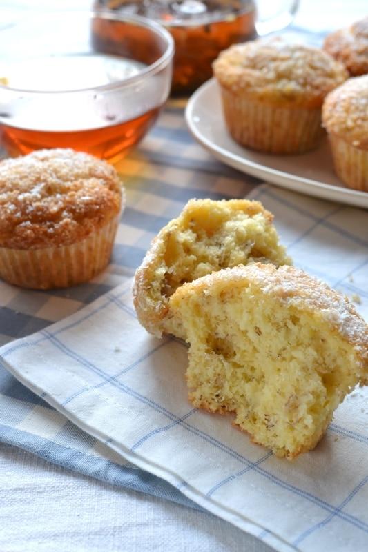 Muffins cocco e banane