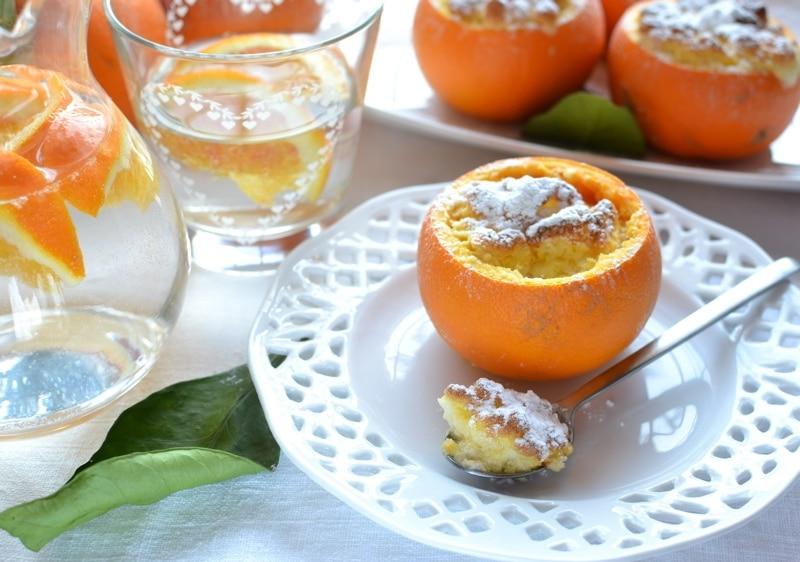 Soufflé nell'arancia