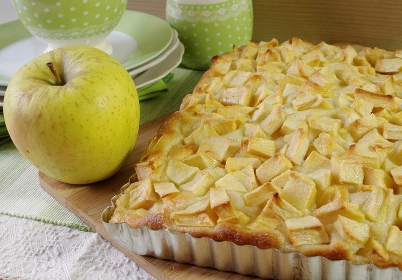 Focaccia dolce di mele