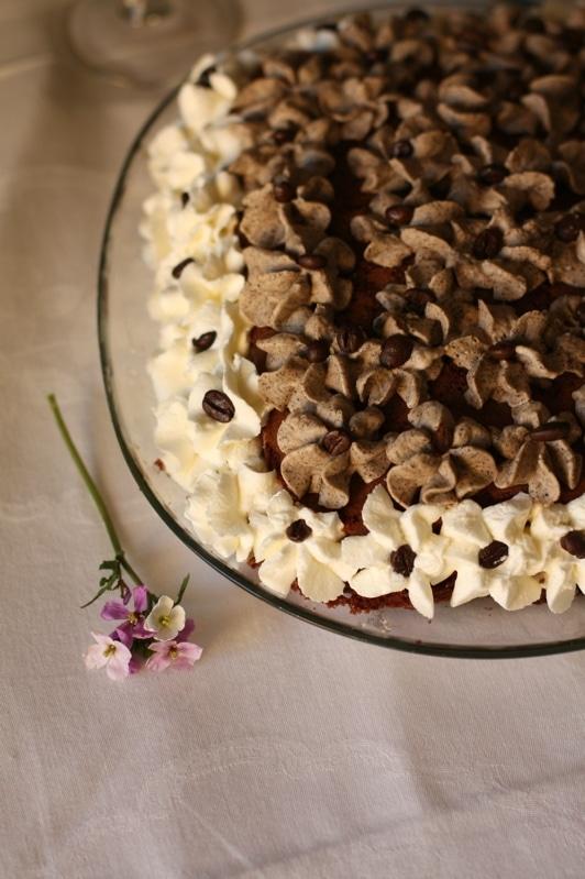 Torta al cioccolato con mascarpone e caffè