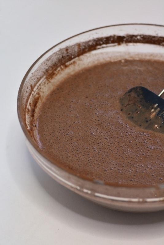 aggiungere il cacao amaro