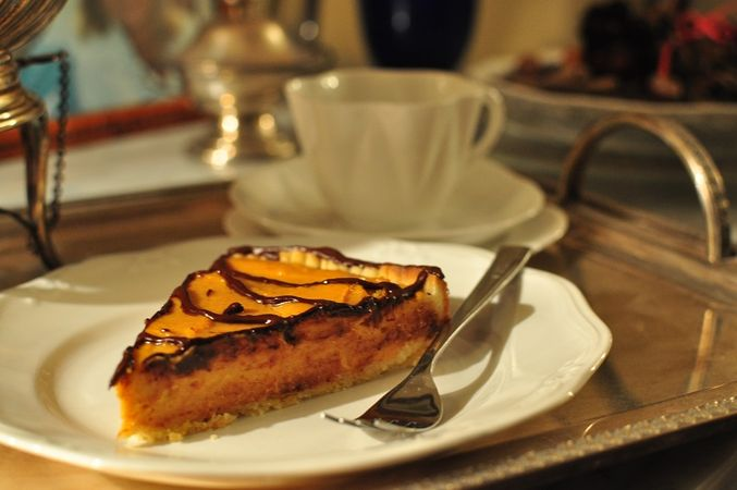 Crostata con crema di zucca e ricotta: assaggiare la torta
