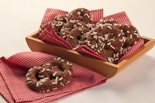 """Brezel al cioccolato """"dolci al cioccolato"""""""