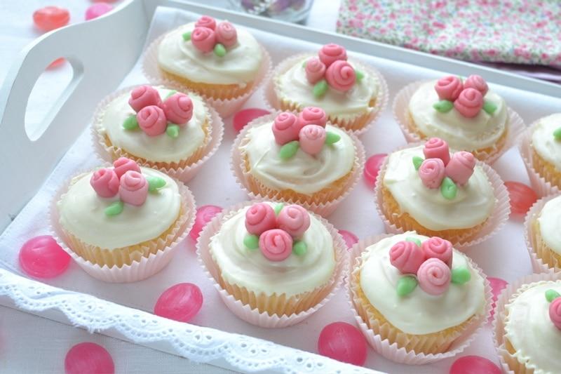 Cupcakes bouquet per la mamma