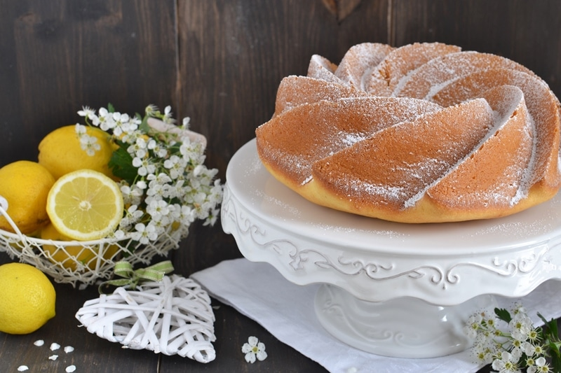 Cream cheesecake al limone