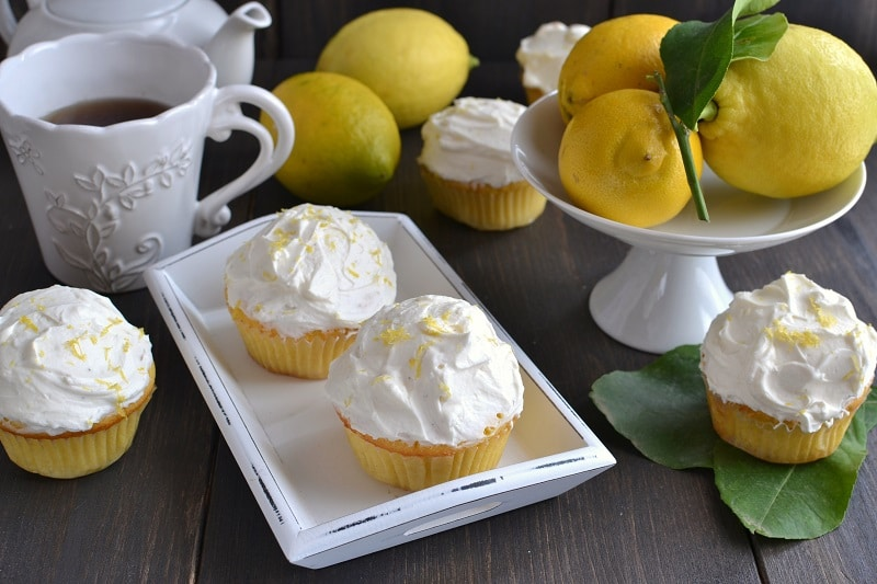 Cupcakes limone e mascarpone