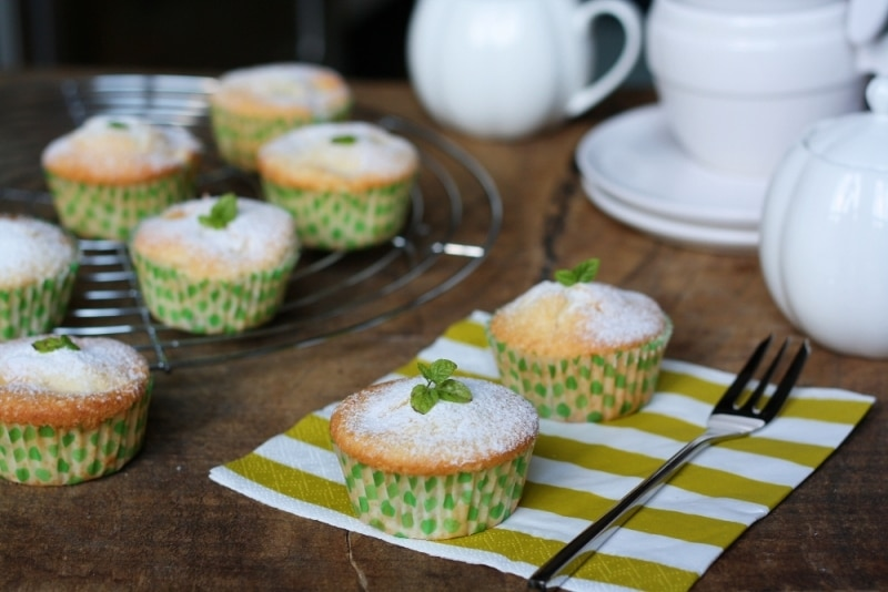 Muffin alle mele e lime