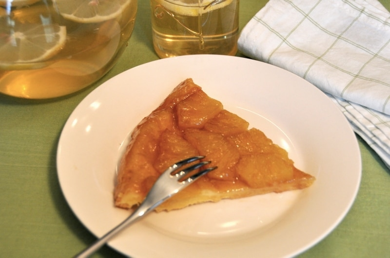 Tatin all'ananas