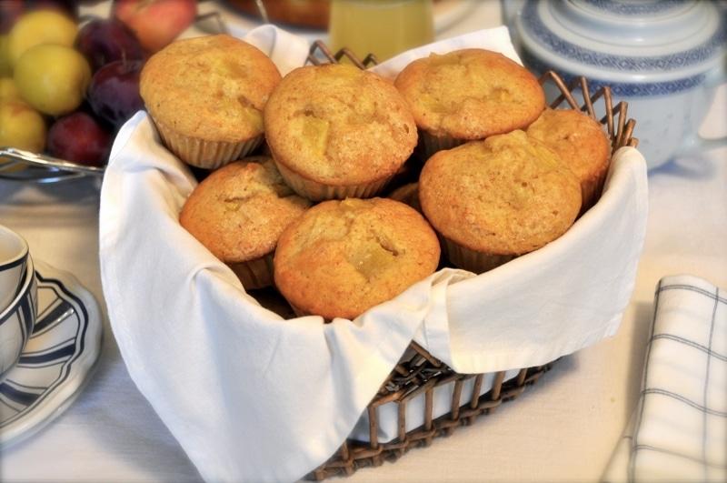 Muffins integrali all'ananas