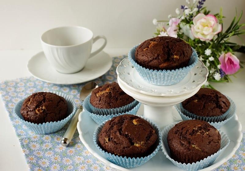 Muffins ai cioccolati misti