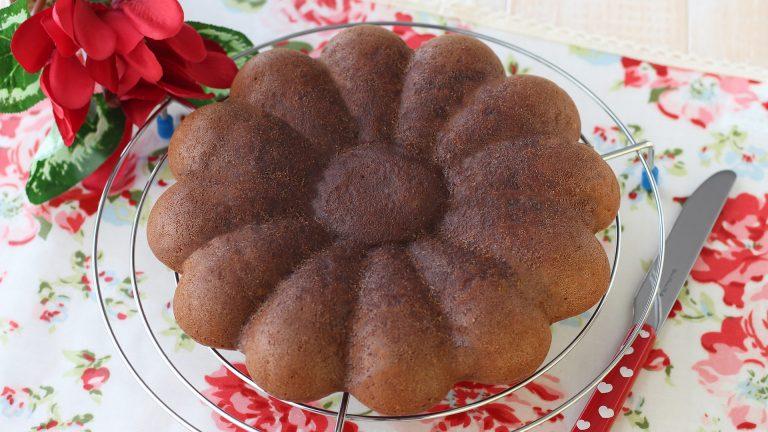 Cuocete in forno a 180°C per 40 minuti. Sfornate, lasciate intiepidire poi sformate la torta. Lasciatela raffreddare su una gratella per dolci prima di gustarla.