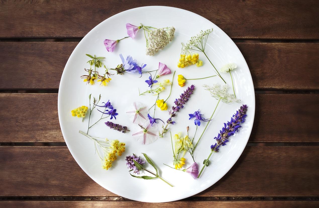 Fiori eduli: esplode in primavera 2018 la moda dei fiori da mangiare!