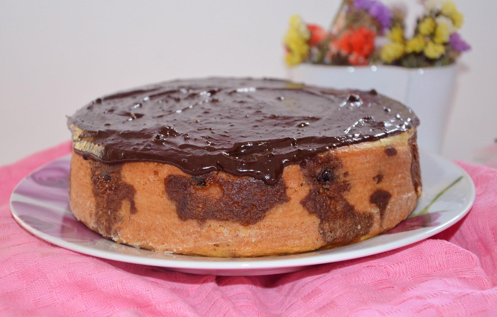Torta soffice amarene e cioccolato