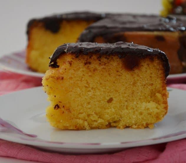 torta soffice amarene e cioccolato 5