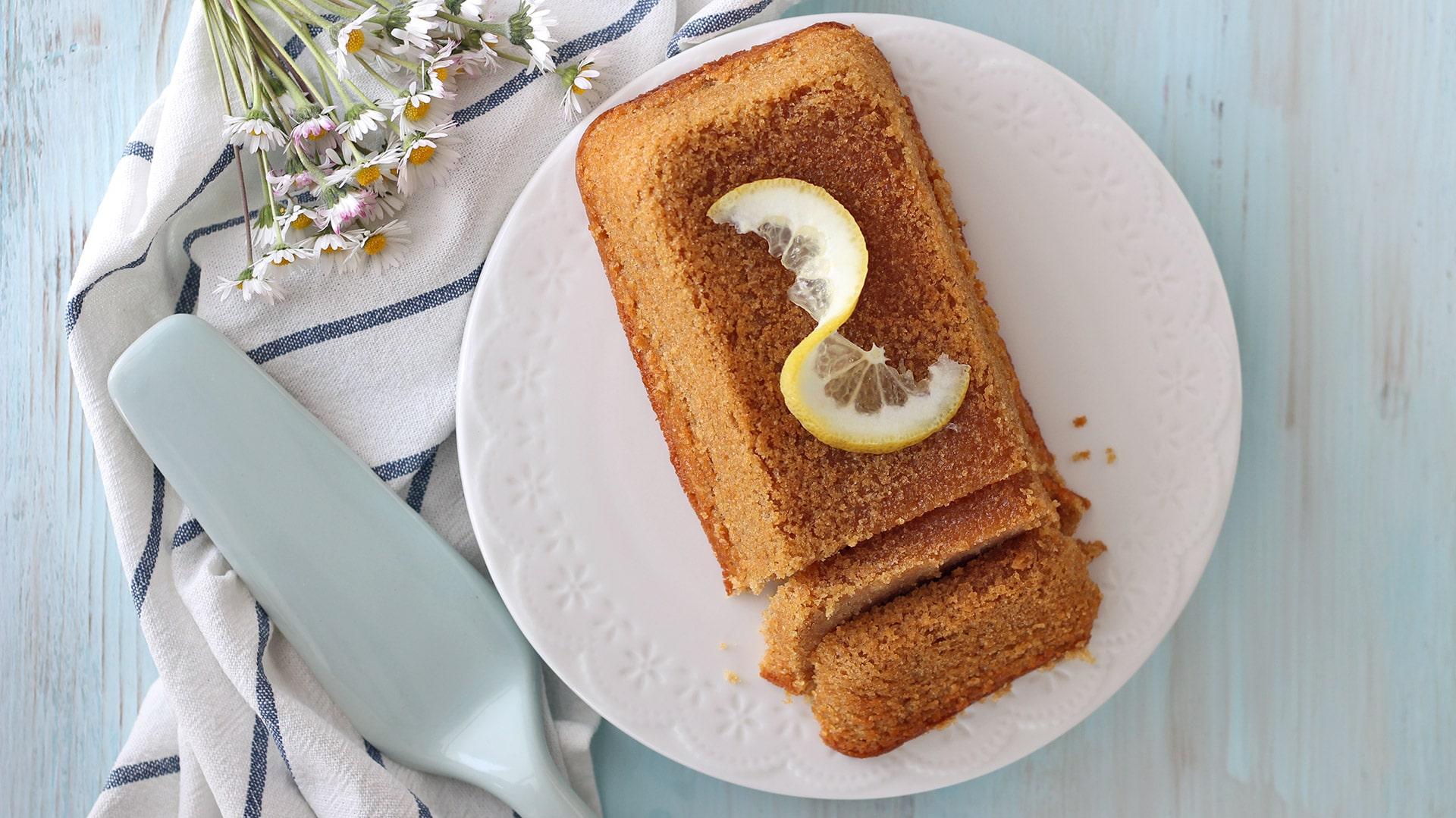 Plumcake vegano al limone