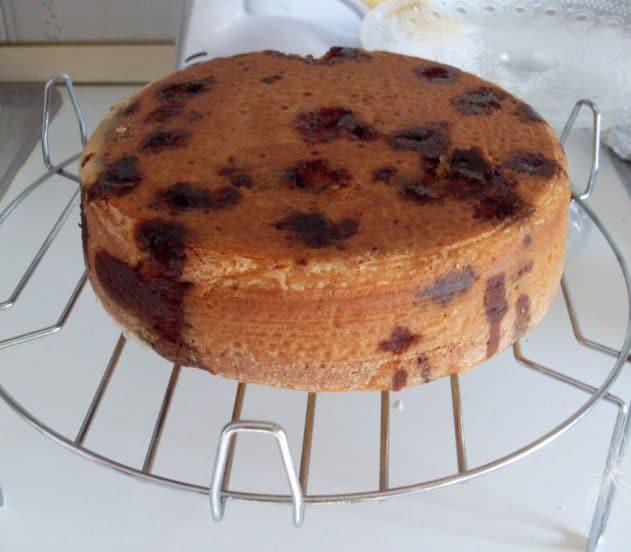 torta soffice amarene e cioccolato 3