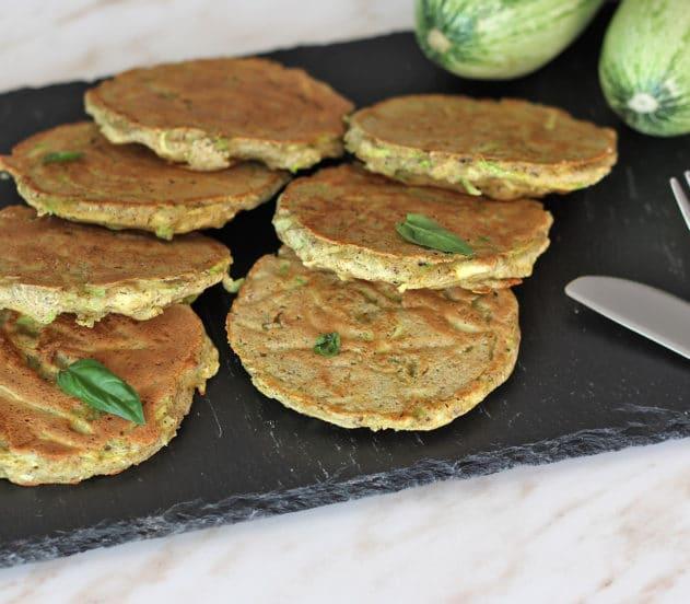Pancakes alle zucchine 4
